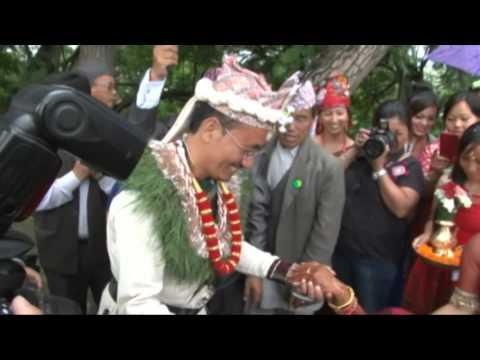 Nepali wedding in Limbu Culture of Chandra and Bhawana in Kathmandu, Nepal (31st July, 2015)