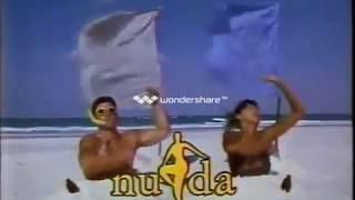 Shiseido Nuda CF 1988 資生堂ヌーダ ハイレグTバック水着.