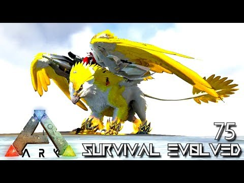 ARK: SURVIVAL EVOLVED - NEW TEK GRIFFIN EMPEROR KING KONG FOREWORLD MYTH E75 (MOD EXTINCTION CORE)
