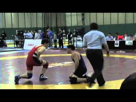 2009 Junior National Championships: 66 kg Nick Raimondo vs. Austin Van Horne