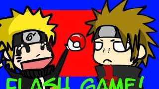 Flash Game: Pokemon + Naruto By Fancypancakes