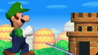 New Super Luigi Bros DS Walkthrough - Part 1 - World 1