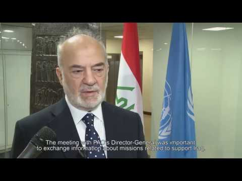 Remarks by Ibrahim Al Jafaari, Minister of Foreign Affairs, Republic of Iraq