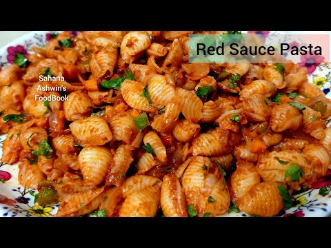 Red Sauce Pasta Recipe in tamil/How to make pasta/Veg Pasta Recipe – Indian Style/Pasta Recipe
