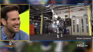 ATAQUE de RISA en 'EL CHIRINGUITO' con un ROBOT deportista