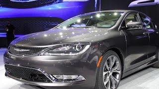 How Classic American Design Inspired the 2015 Chrysler 200 - 2014 Detroit Auto Show