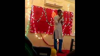 sahil pe khary ho ghazal by hassan shah on farewell party