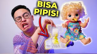 MAINAN INI BISA PIPIS BENERAN.. | BABY ALIVE HAPPY HUNGRY BABY UNBOXING & REVIEW