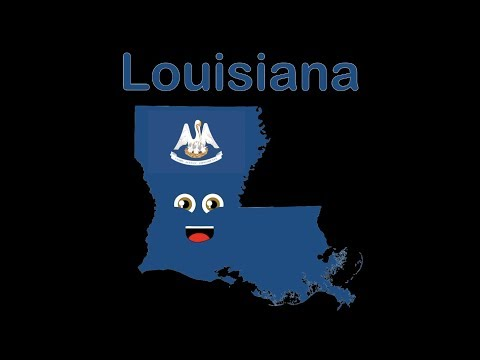Louisiana/Louisiana Geography/Louisiana Parishes Song