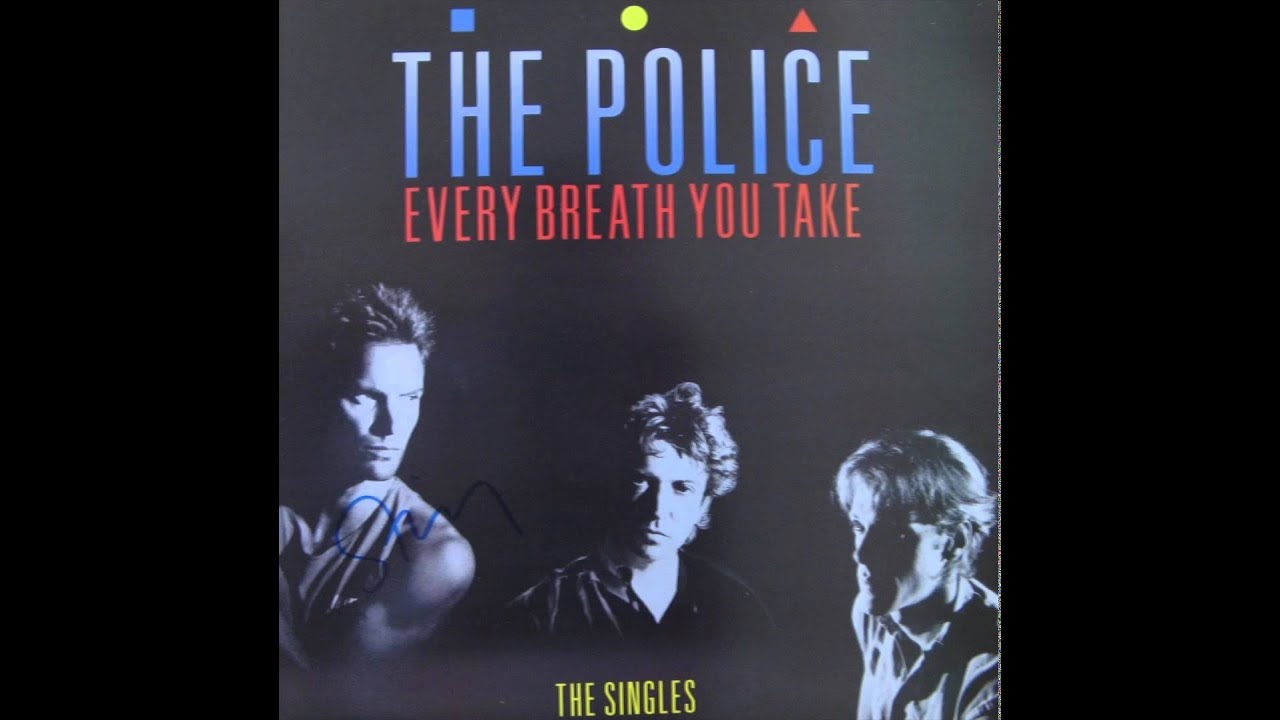 Police Every Breath You Take 12 Inch