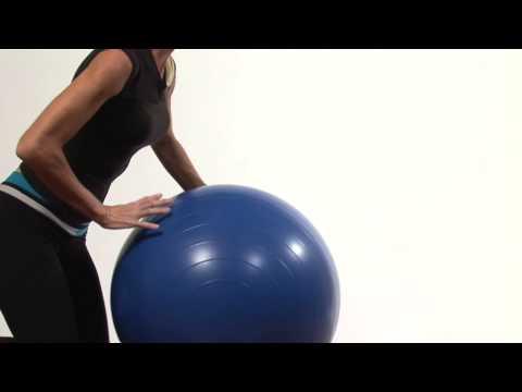Stability Ball Flexibility Exercises