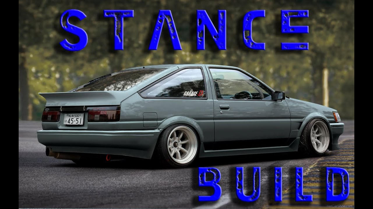 Build A Toyota >> Toyota AE86 | Stance Build | Stuner | Ep19 - YouTube