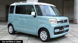 "Suzuki Spacia Hybrid X ""2 Tone Roof Package"" : Blue"