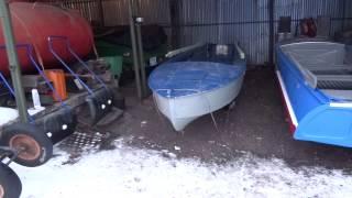 Казанка Піонерка під рибалку ( початок проекту )