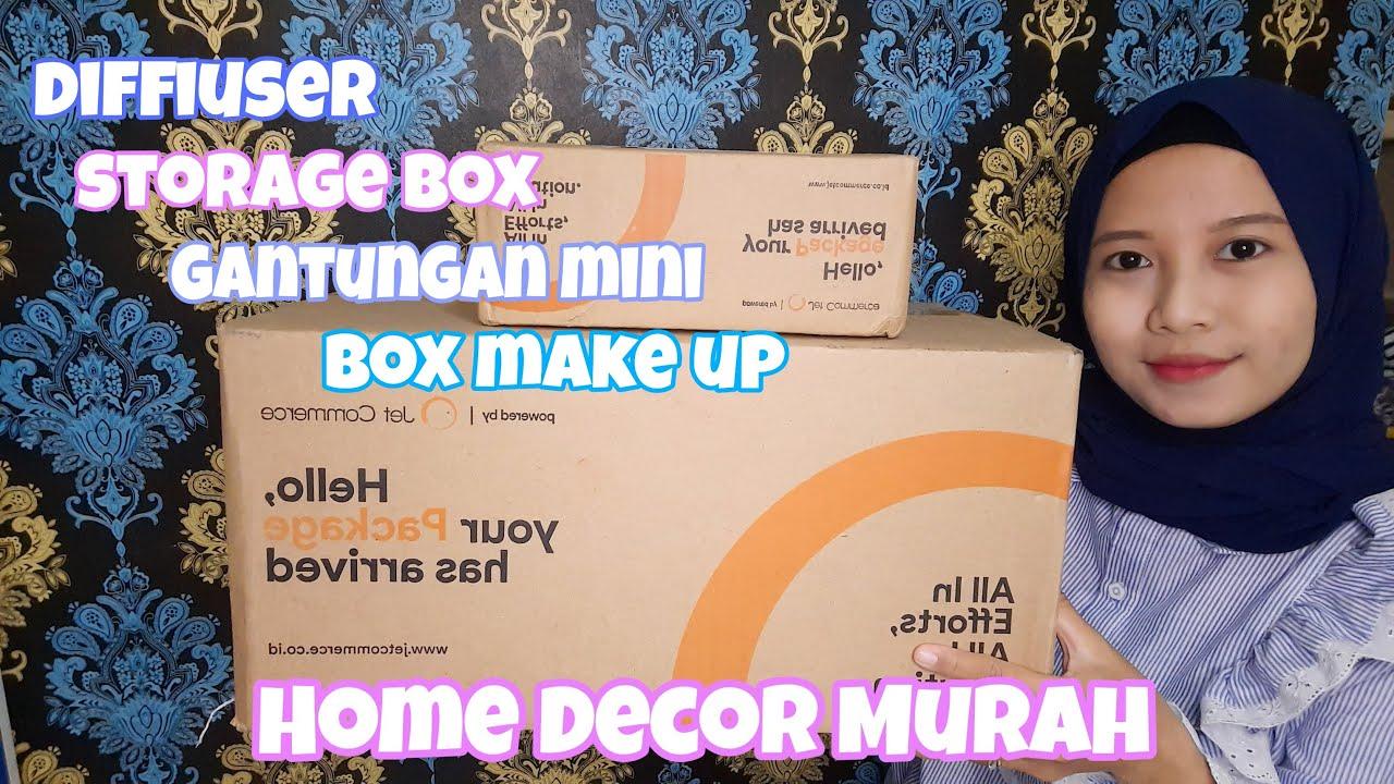 HAUL HOME DECOR STORAGE BOX MINI DAN DIFFUSER MURAH UNDER 50K !!!