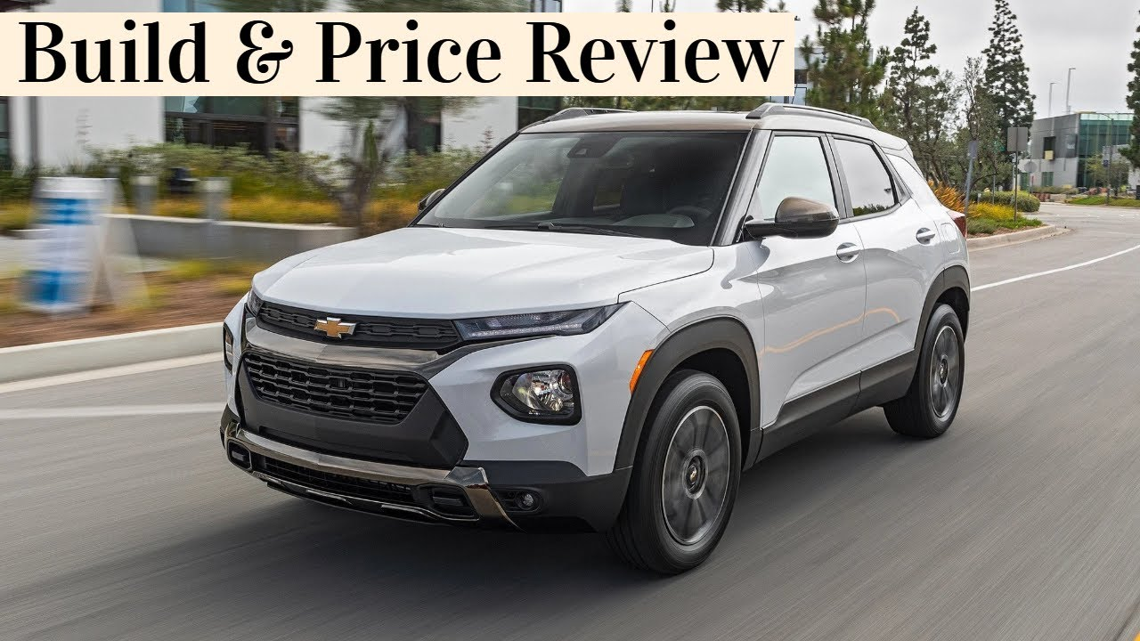 See our configurator builds here! 2021 Chevrolet Trailblazer Lt Build Price Review Features Colors Gallery Configurations Youtube