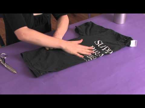 how to cut a tshirt into a tank top
