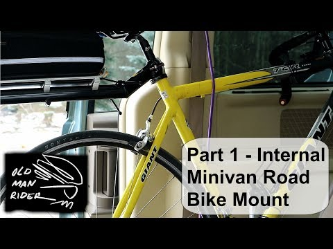How to: Part 1 - Internal Minivan Road Bike Mount System