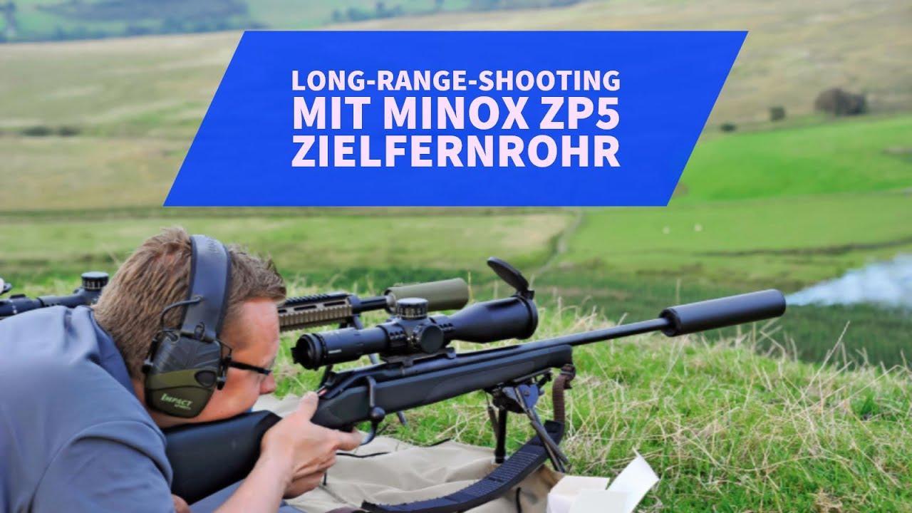 Zielfernrohr test minox zp zielfernrohr beim long range schießen