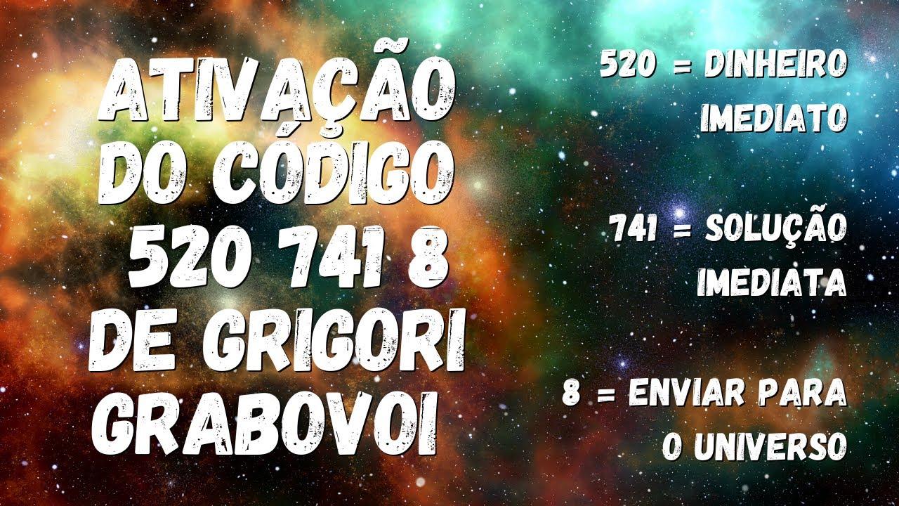 Download Código 520 741 8 de Grigori Grabovoi para atrair Dinheiro Inesperado!