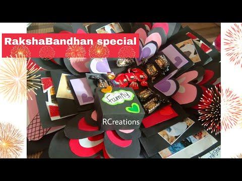 Rakshabandhan Special💝/Explosion box/brother sister