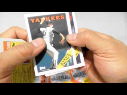 1988 Topps Baseball Cards CASE UNBOXING Video...VINTAGE Case For Only 5.00