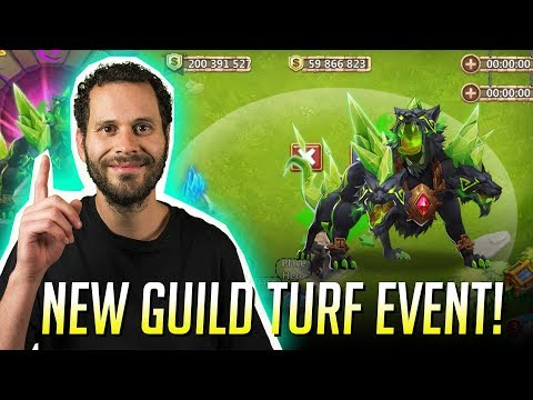 New Guild Turf Event SETTING UP As Guild Leader Castle Clash