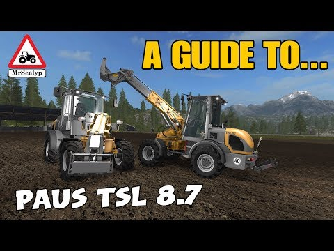 A Guide to... Paus TSL 8.7. Farming Simulator 17 PS4. Review. NEW MOD! thumbnail