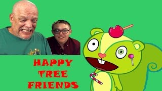 """Fun Reaction Vids   """"Happy Tree Friends"""" - Well, That Escalated Quickly"""