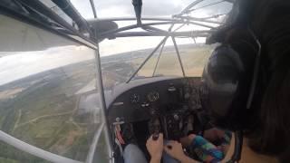 Panne moteur (engine failure) ULM coyote à l'aérodrome de Meaux-Esbly LFPE