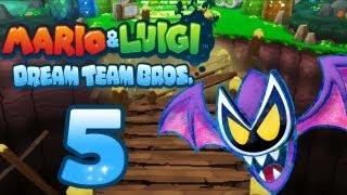 Let's Play Mario & Luigi Dream Team Bros. Part 5: Kampf gegen Dreamy-Mario