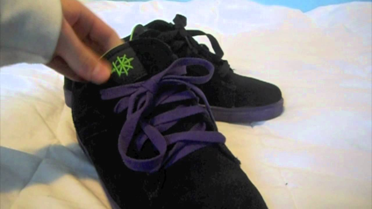 0e33f2d9c864 Stormy s Beast Shoes  1 Supra Bullet Black Suede - Green + Purple ...