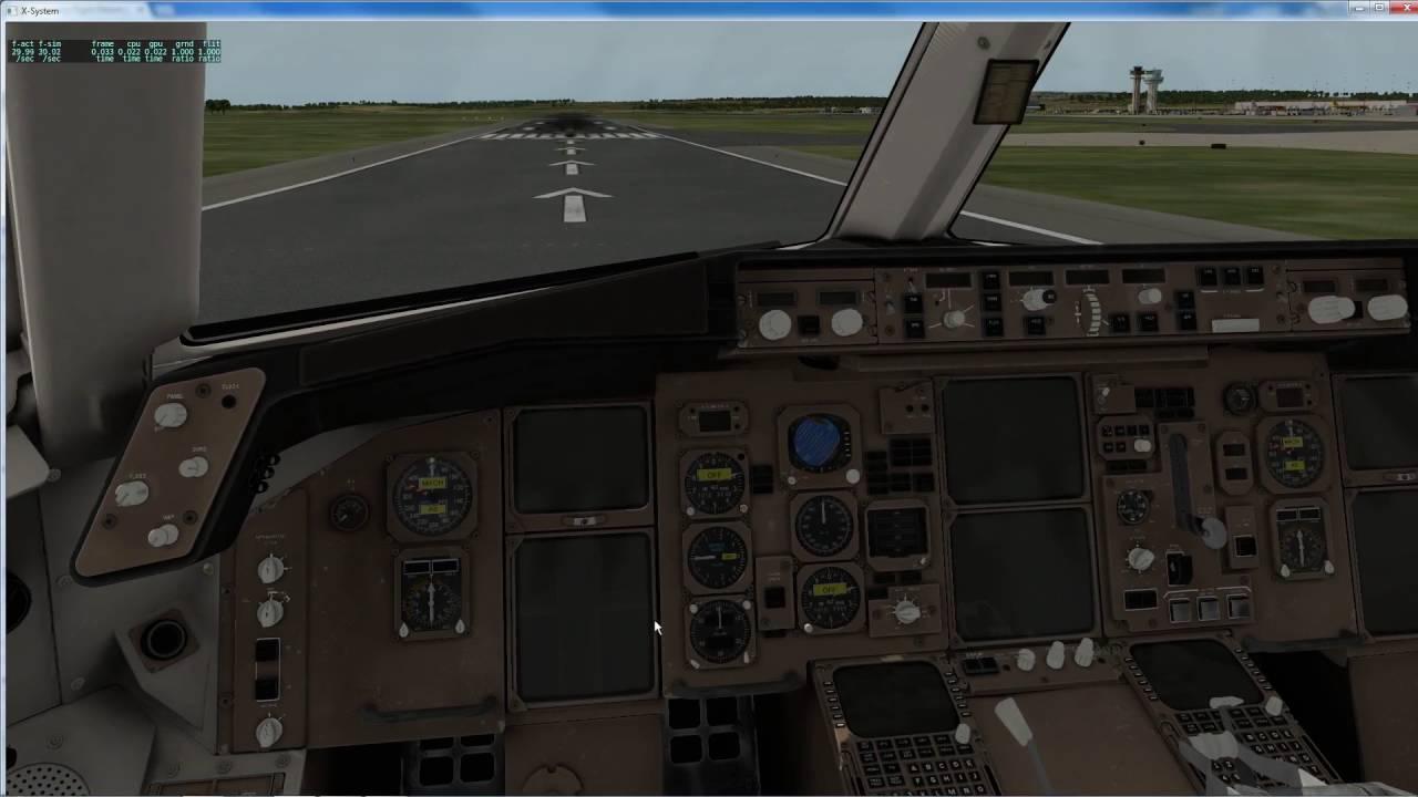 Flight Factor Boeing 767-300 ER review for X-Plane 10 ----- Part 3 FMC and  Flight model