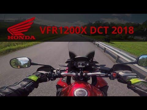 Honda VFR1200X DCT Cross-tourer test ride