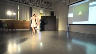 """Andrea Ballestero y Martín Pargana bailan para """"Ricomincio da te"""" 1"""
