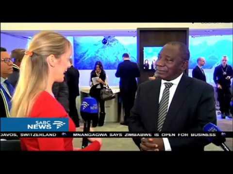 Ramaphosa on WEF, Davos