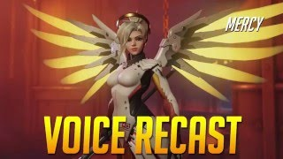Update: Mercy voice comparison - patch March 8th