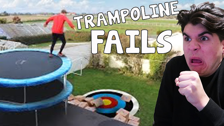 reacting to bad trampoline fails
