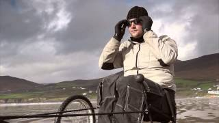 Rolling With The Wind - Wheelchair Kiting at the Beach Thumbnail