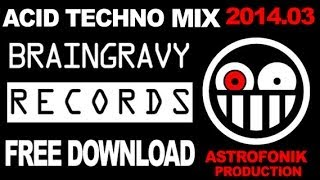 Free Download MIX Acid Techno 2014.03 by LEEROY (Son de Teuf)