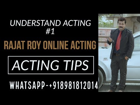 free online acting classes and lessons in hindi   Sad dialogue delivery, Rajat Roy Online