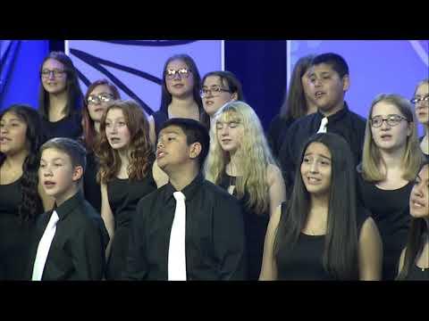 Dexter McCarty Middle School Choir Holiday Showcase 2019 MetroEast