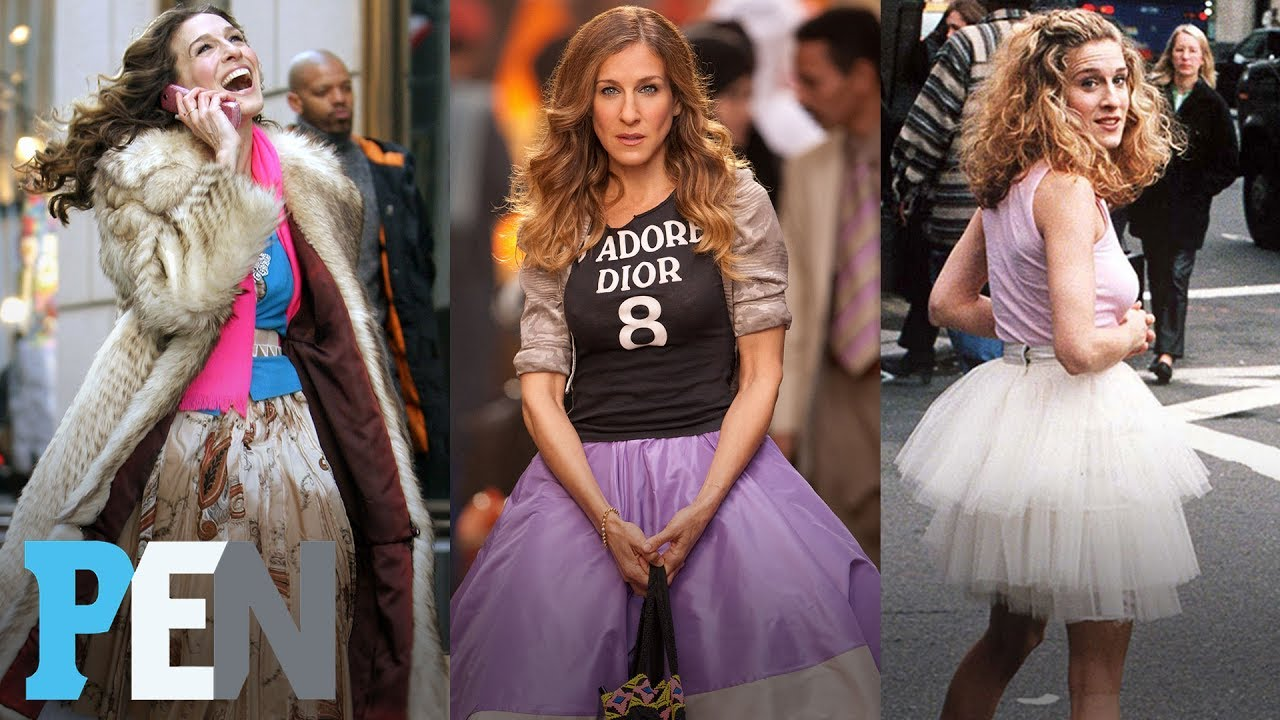 Sarah jessica parker sex and the city dress