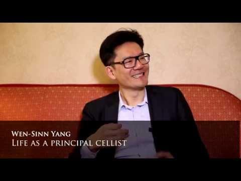 Wen-Sinn Yang Interview Part 1: Life As A Principal Cellist