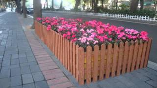 Lumber composite planter box plans