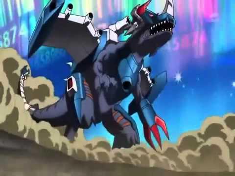 Digimon Xros Wars MetalGreymon