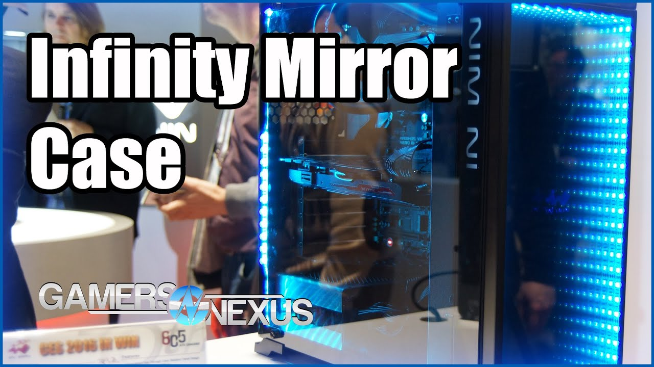 reputable site ccb49 51faf In-Win 805 Infinity Mirror Case | CES 2016