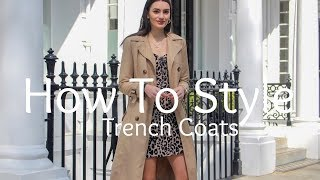 How To Style Trench Coats | Peexo