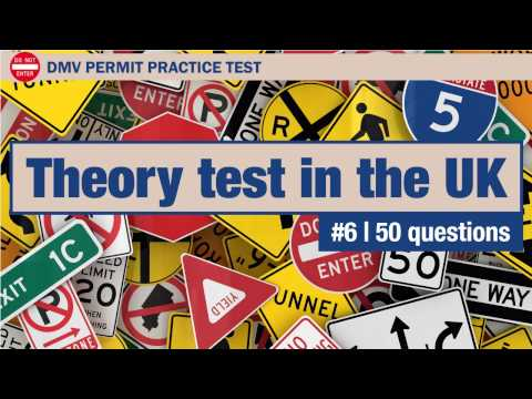 Theory test in the UK 6