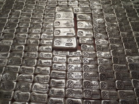 EPIC Unboxing of 263 oz of Prospector's Gold & Gems Silver Poured Bars